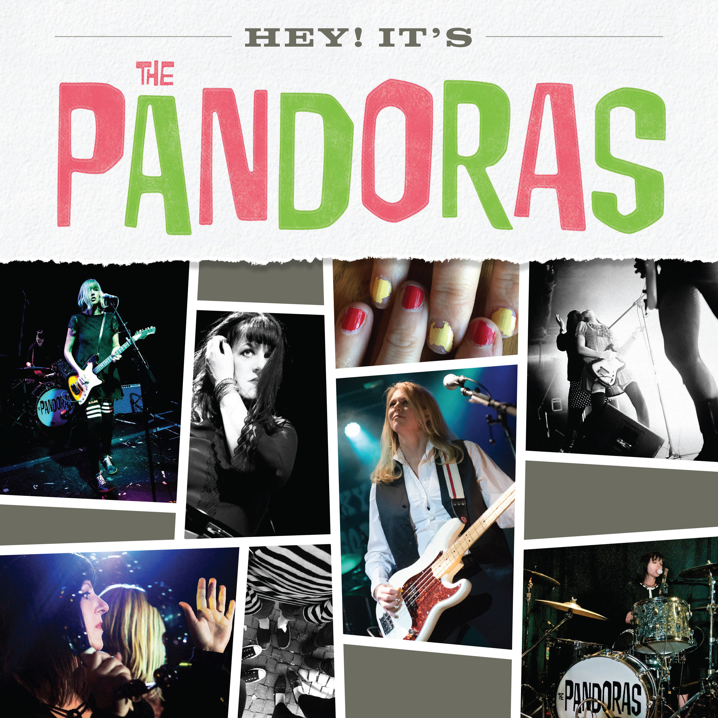 The Pandoras EP/CD cover