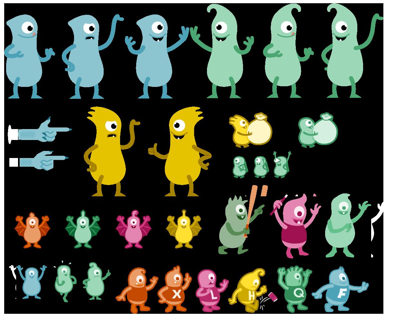 Labs Monsters