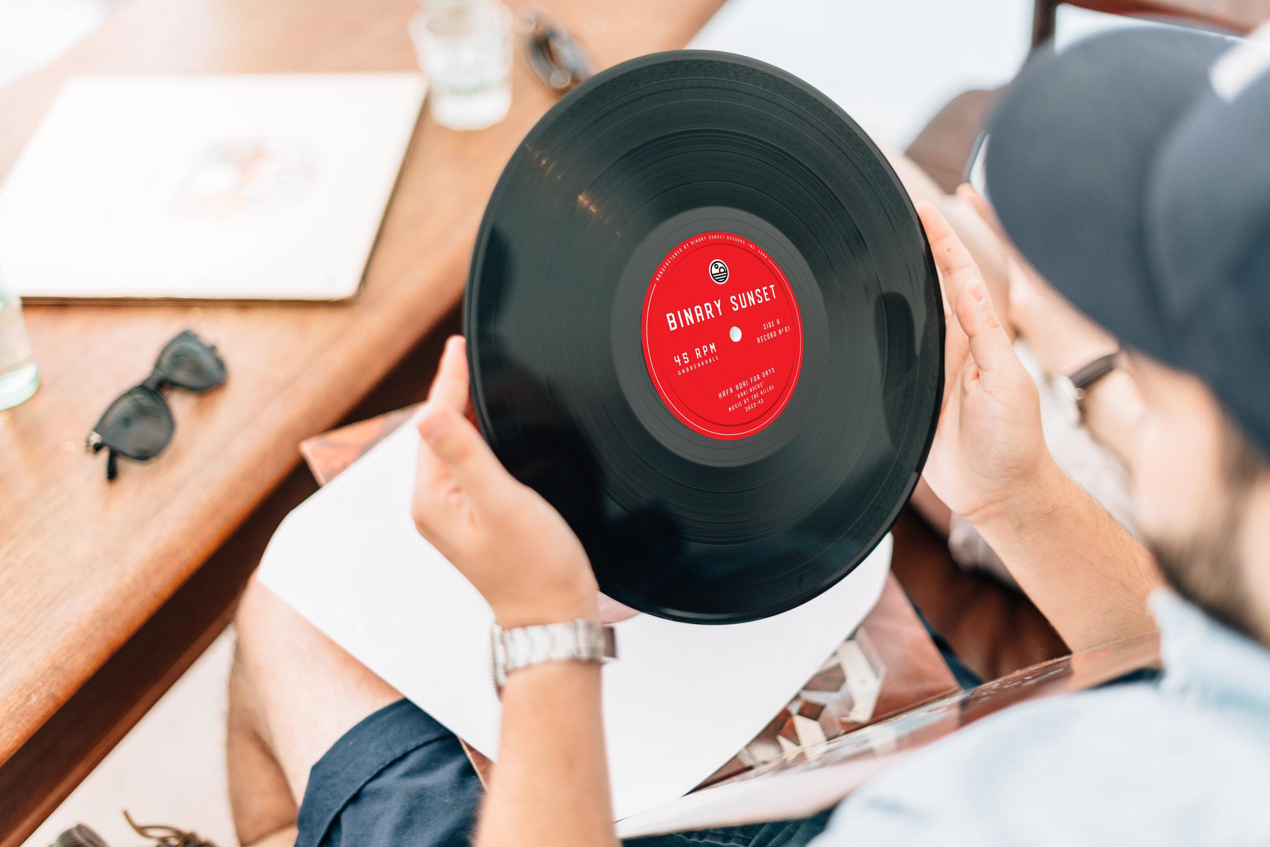 Vinyl Record Design