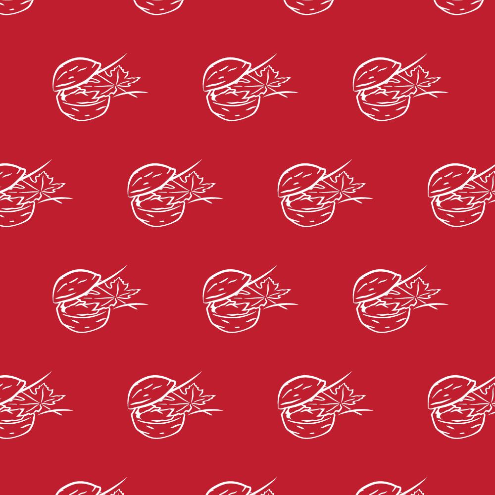 Pattern Illustration // Maple Walnut