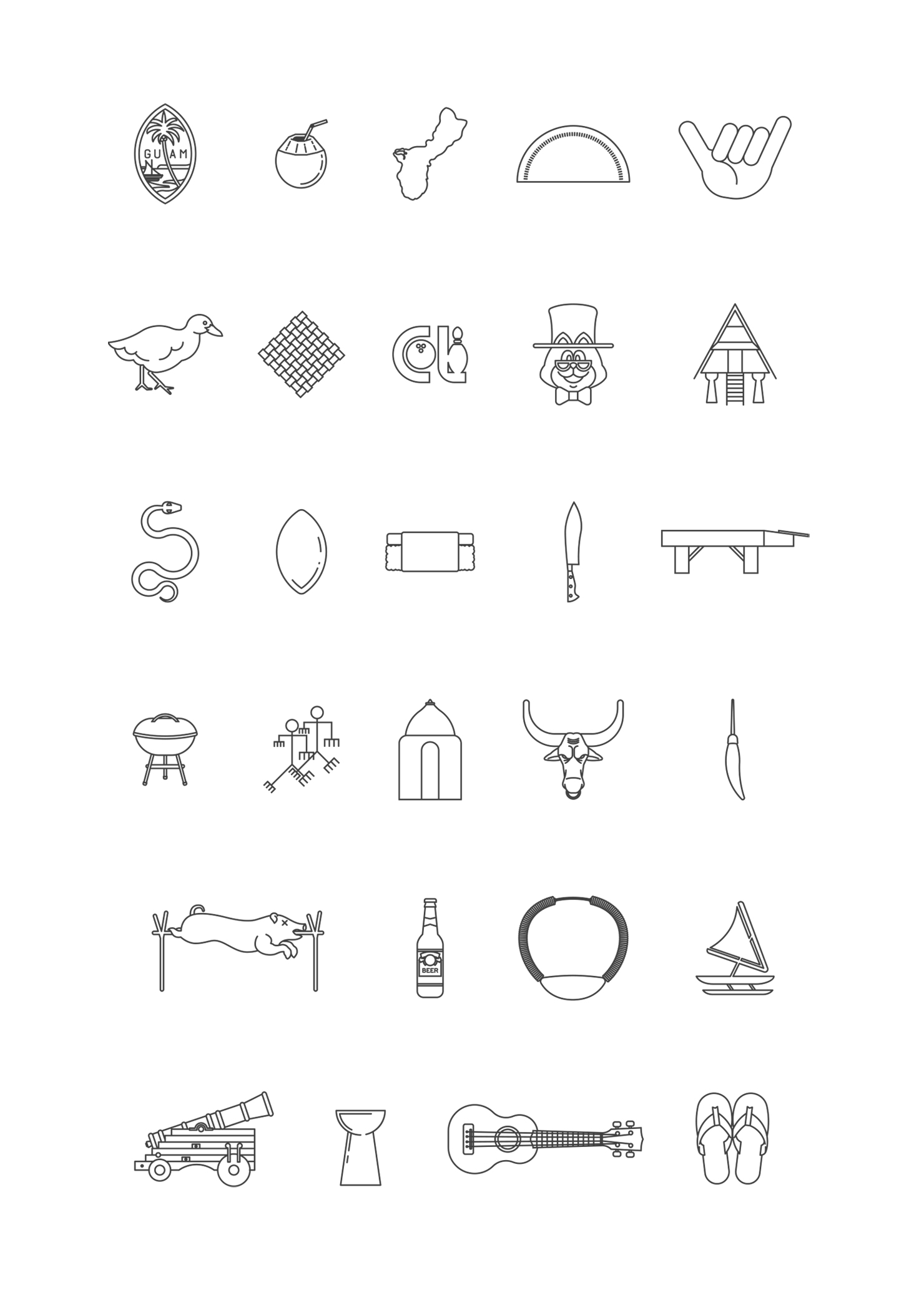 Icon Line Set