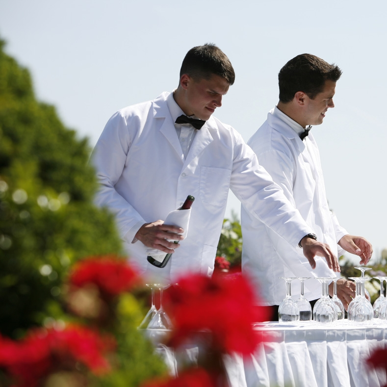Off-Premise Catering   Off-premise catering staff that will blend seamlessly with your team.   Learn More
