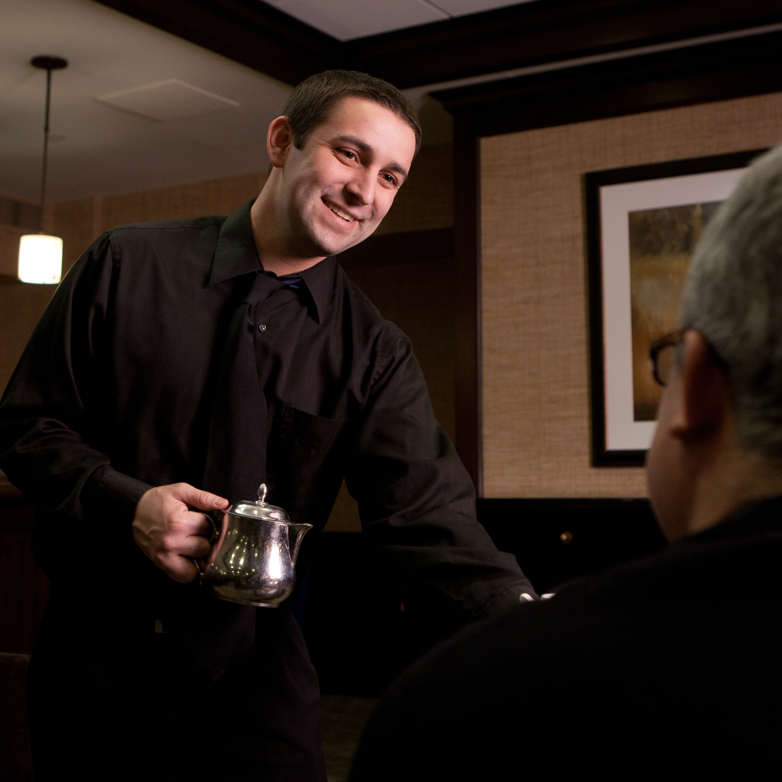 Universities & Colleges   Catering staff for faculty events, commencement, and alumni parties.   Learn More
