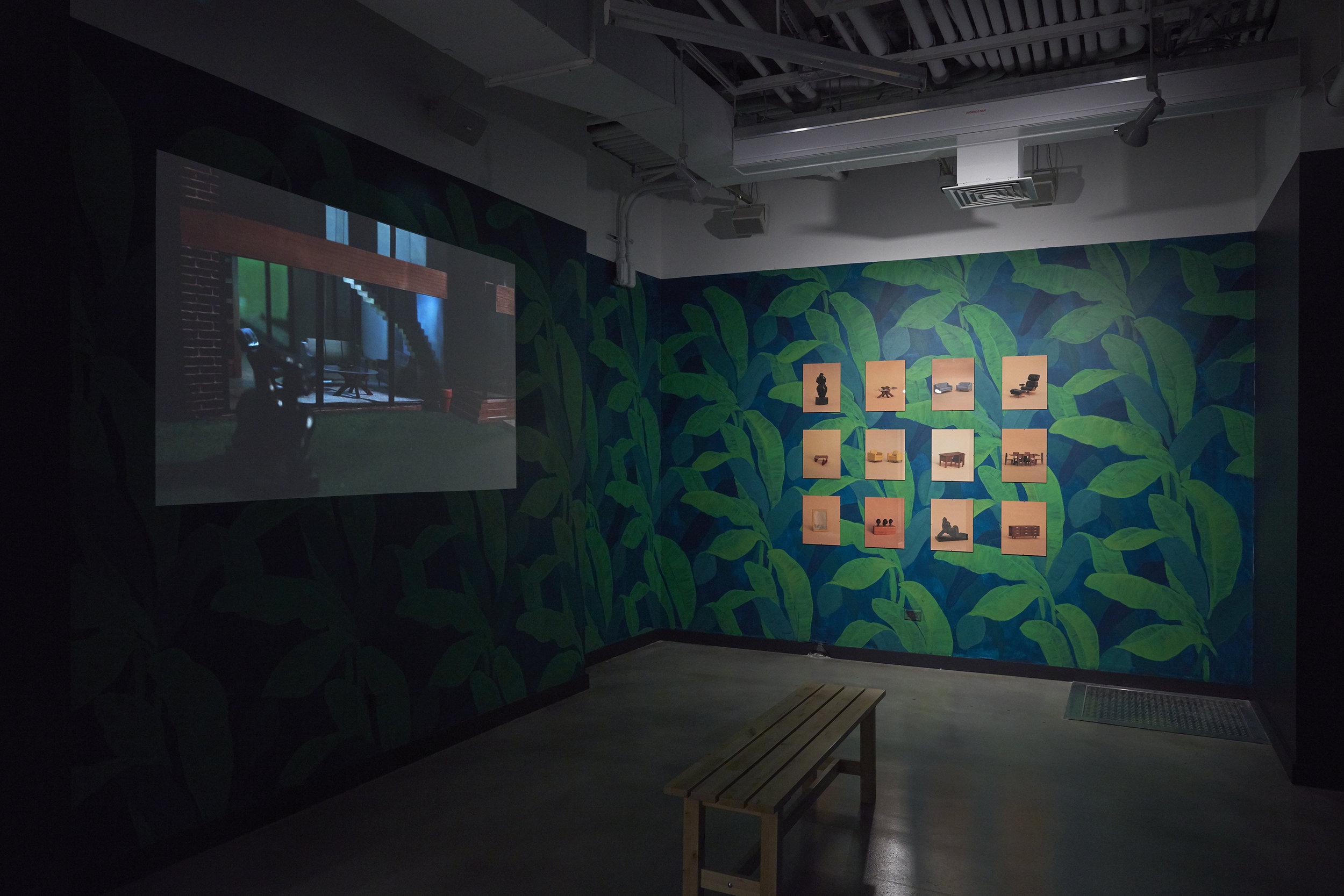 Installation Shot: Eavesdropping at BRIC Arts Media, 2016. Photo Credit: Jason Wyche