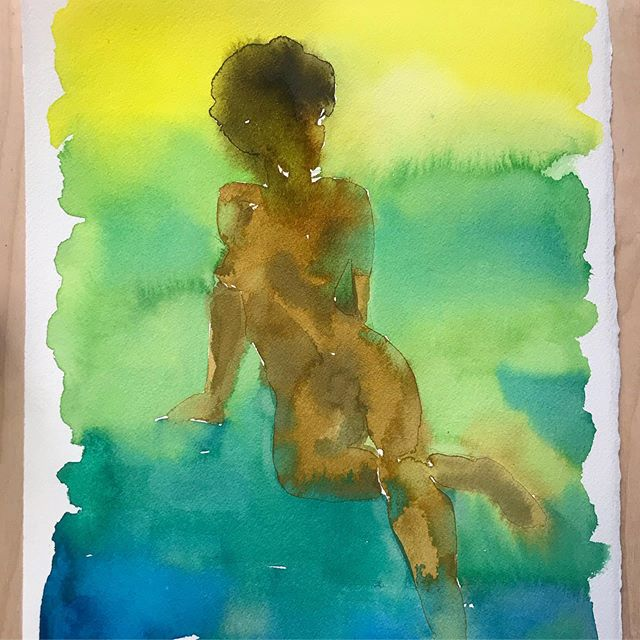 #🎨 #watercolor #workonpaper