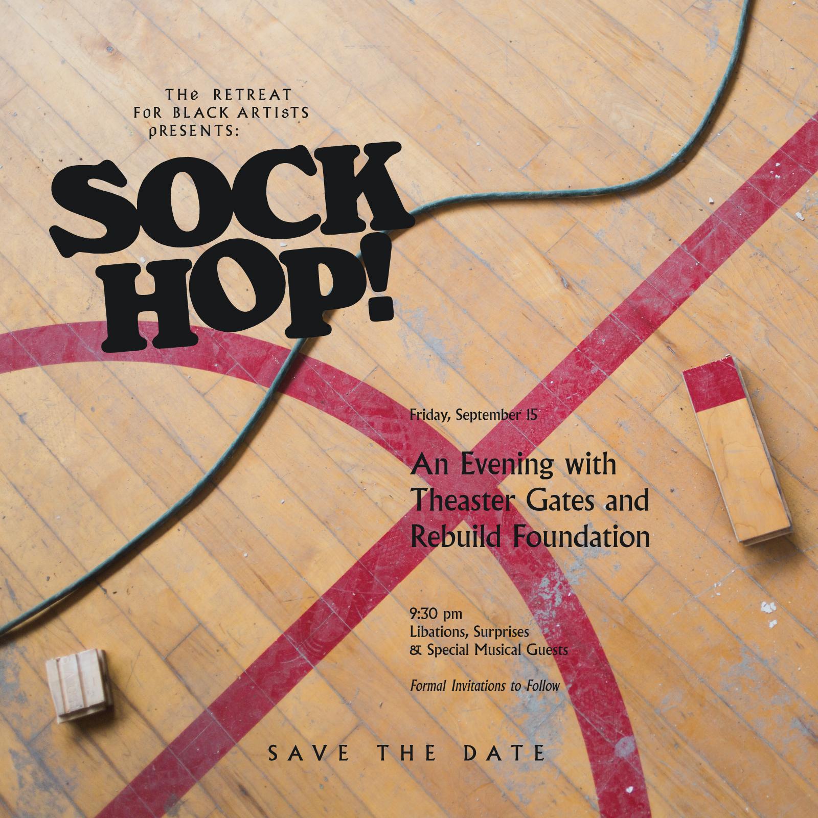 Sock Hop, Rebuild Foundation, Photo: David C. Sampson.