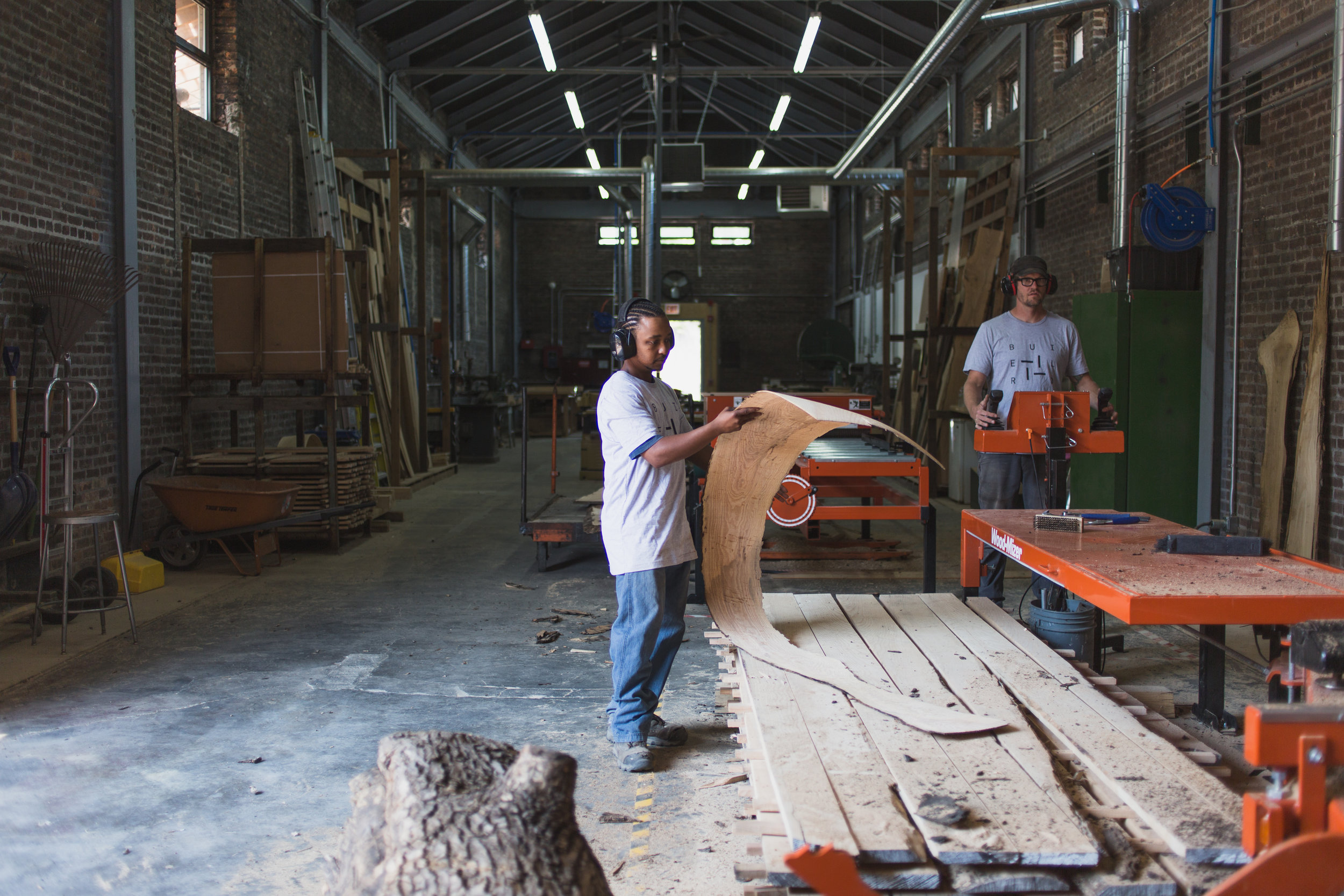 Workforce Development Program, Mill, Rebuild Foundation, Photo: David C. Sampson.