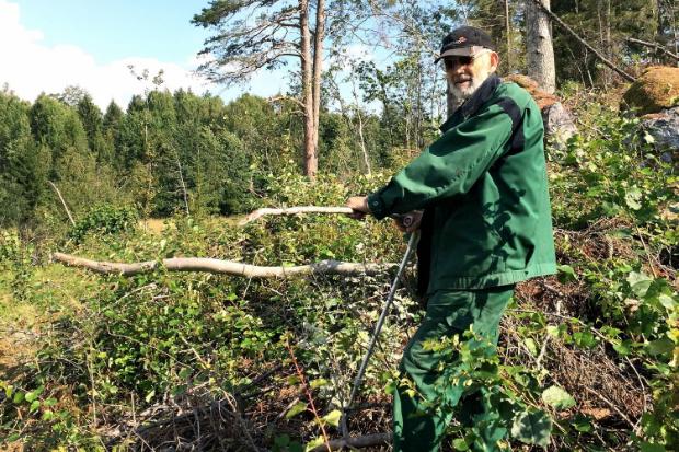 Göran, 80-year old farmer, Sweden