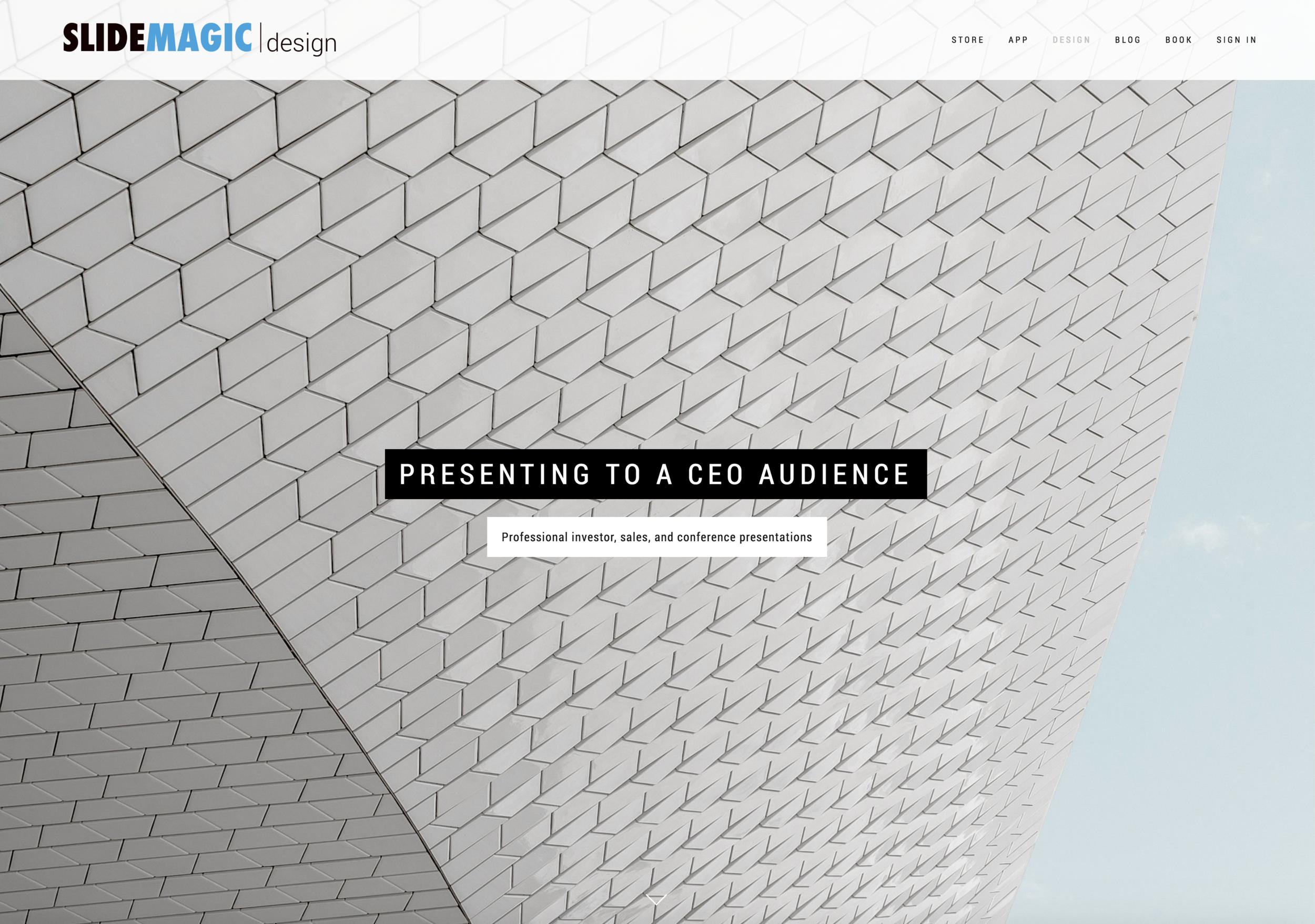The bespoke design business