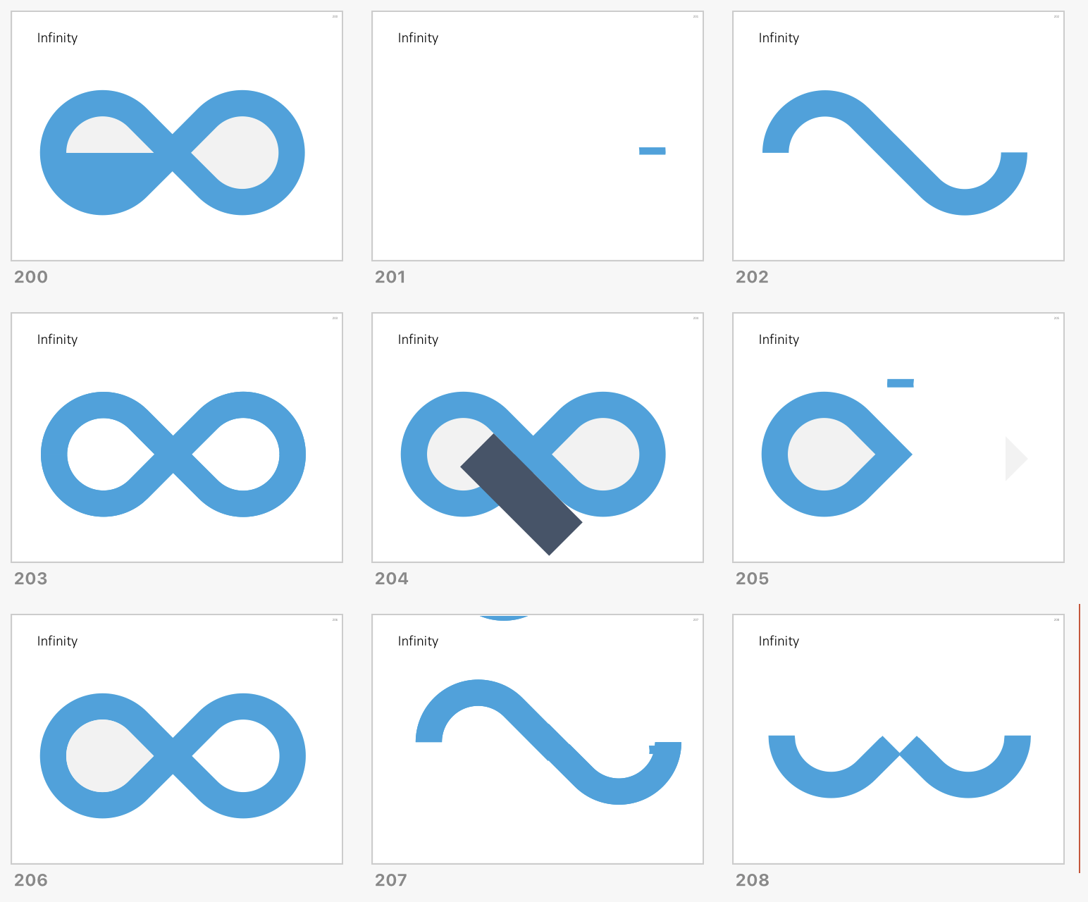 How to create an infinity shape in PowerPoint