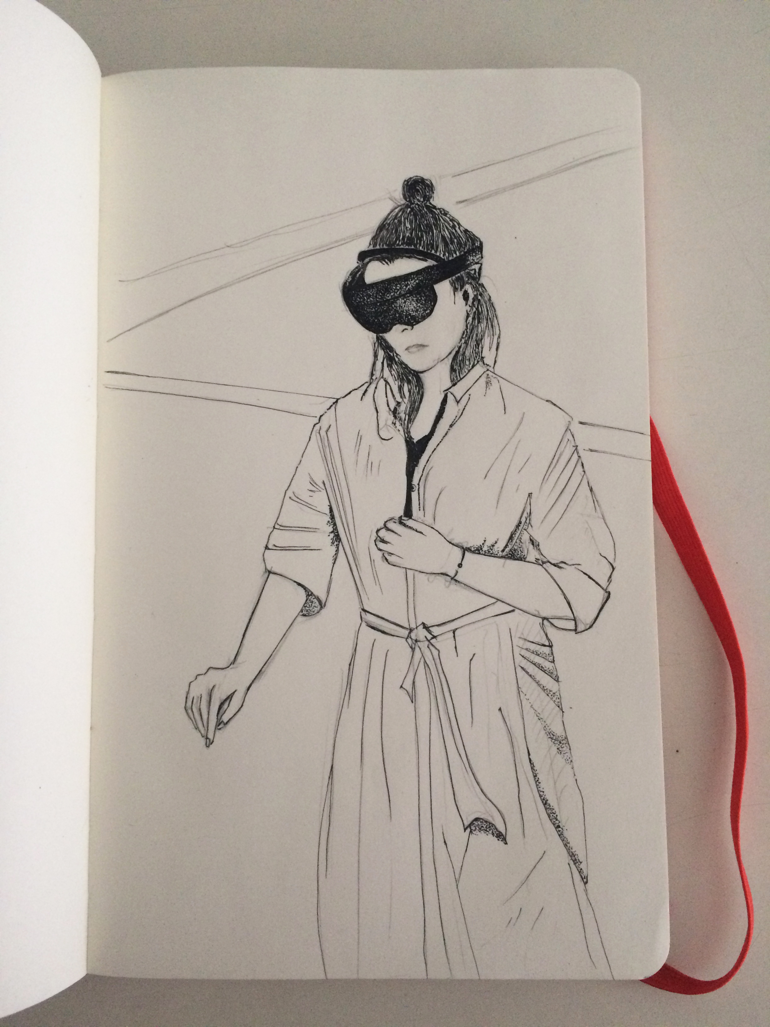 odd futures 02: meeting a holographic ballerina who spins when you touch her  #hololens