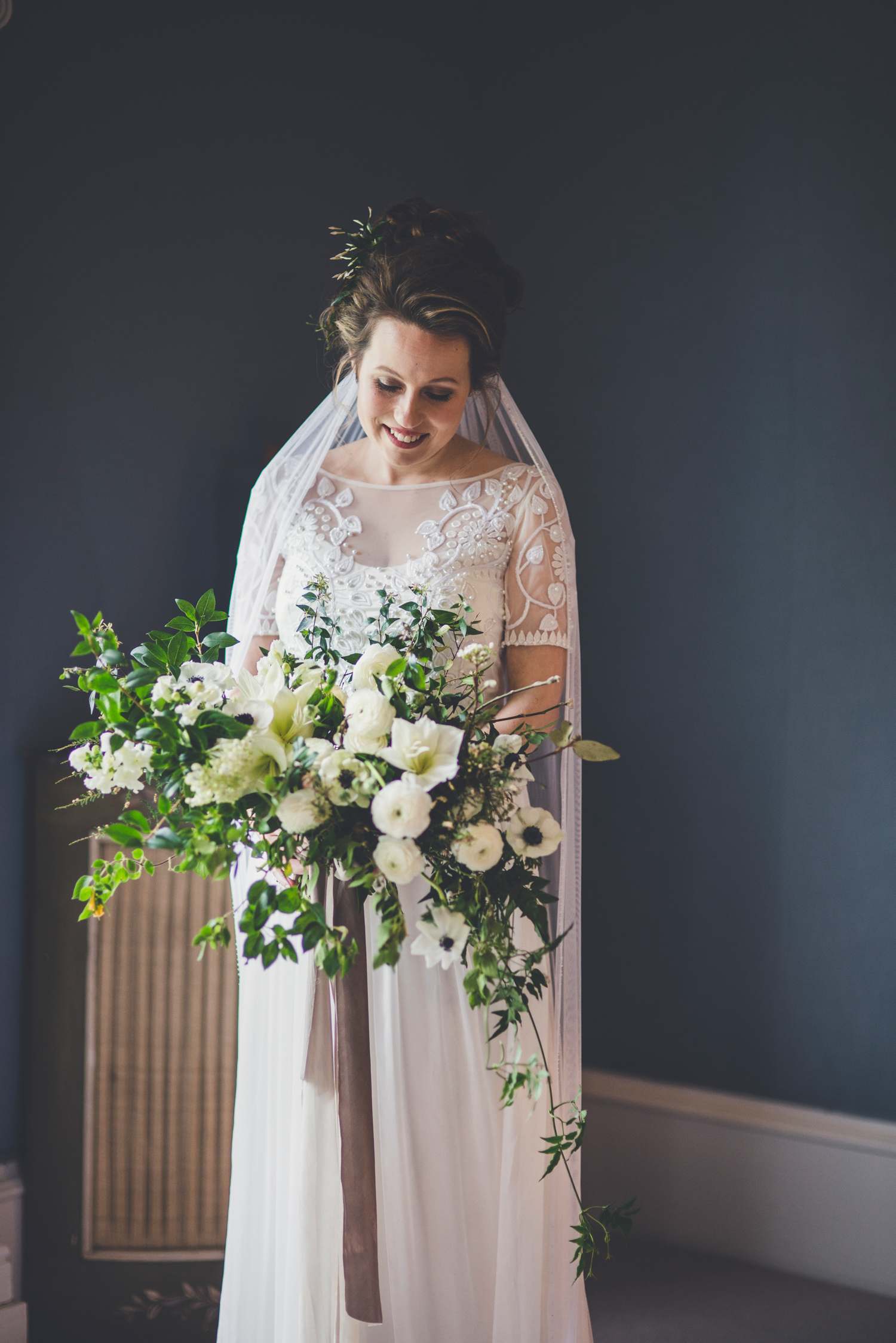 Poppy's Bridal Boquet - Technically a 2015 New Year's Eve Wedding - image by Amy Shore Photography