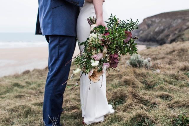 Janet's Bridal Bouquet - Image by Debsivelja
