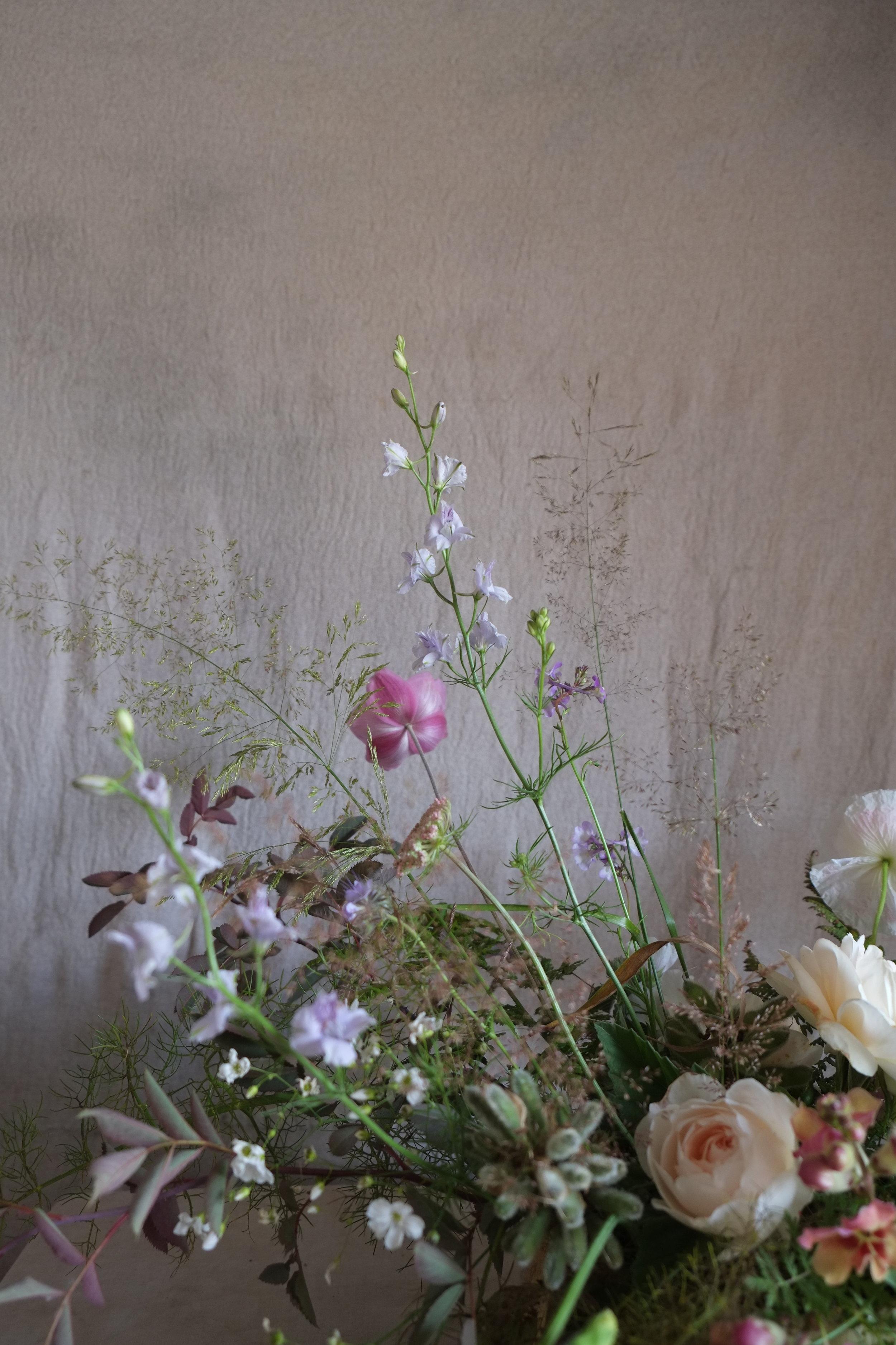 July floral arrangements