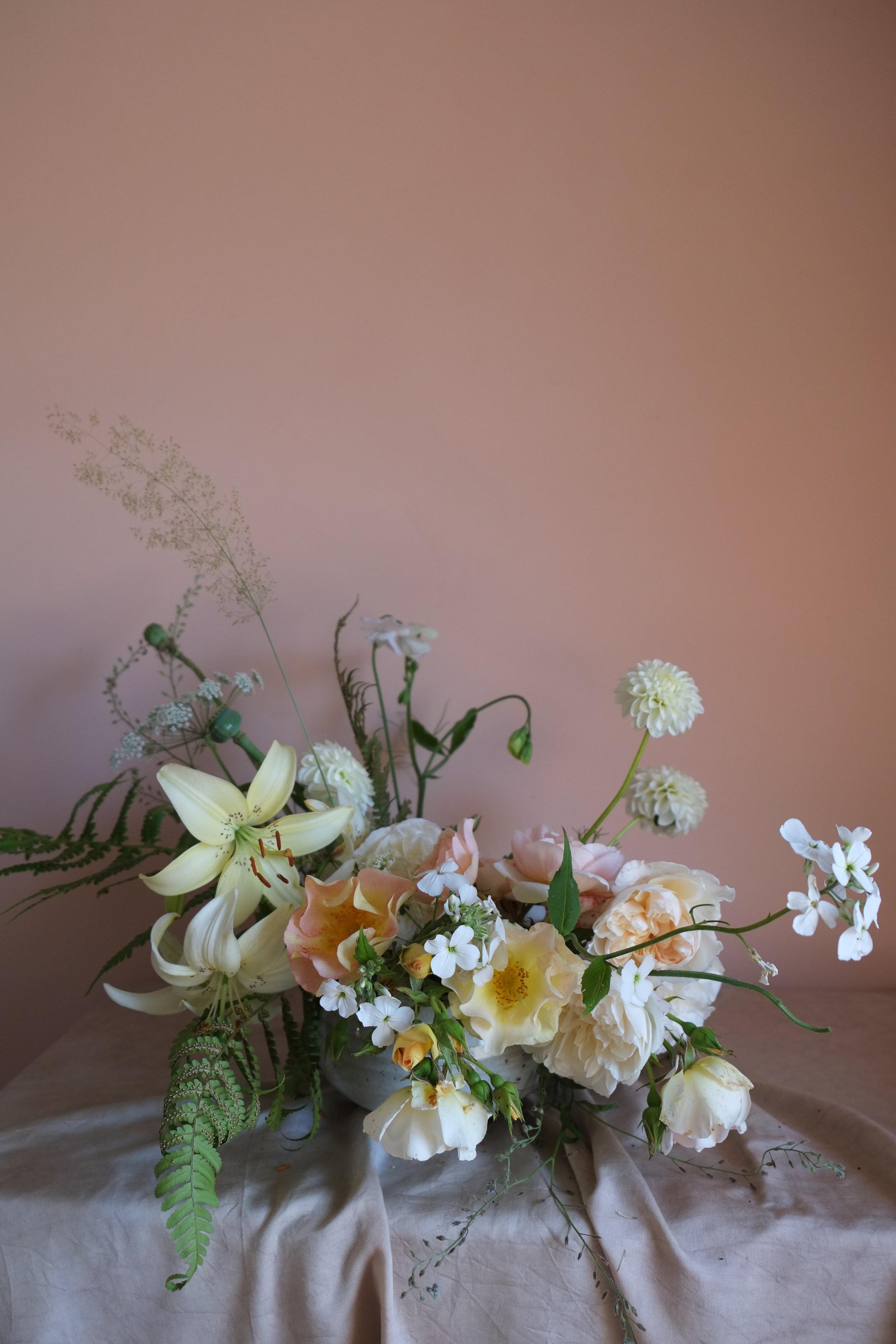 July Wedding Flowers