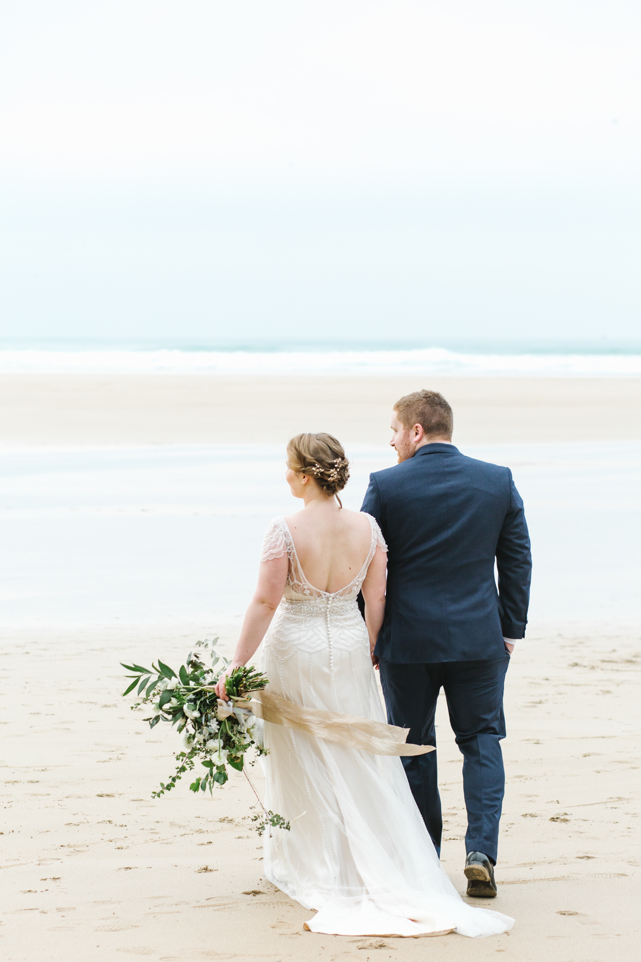 Elopement to Watergate Bay