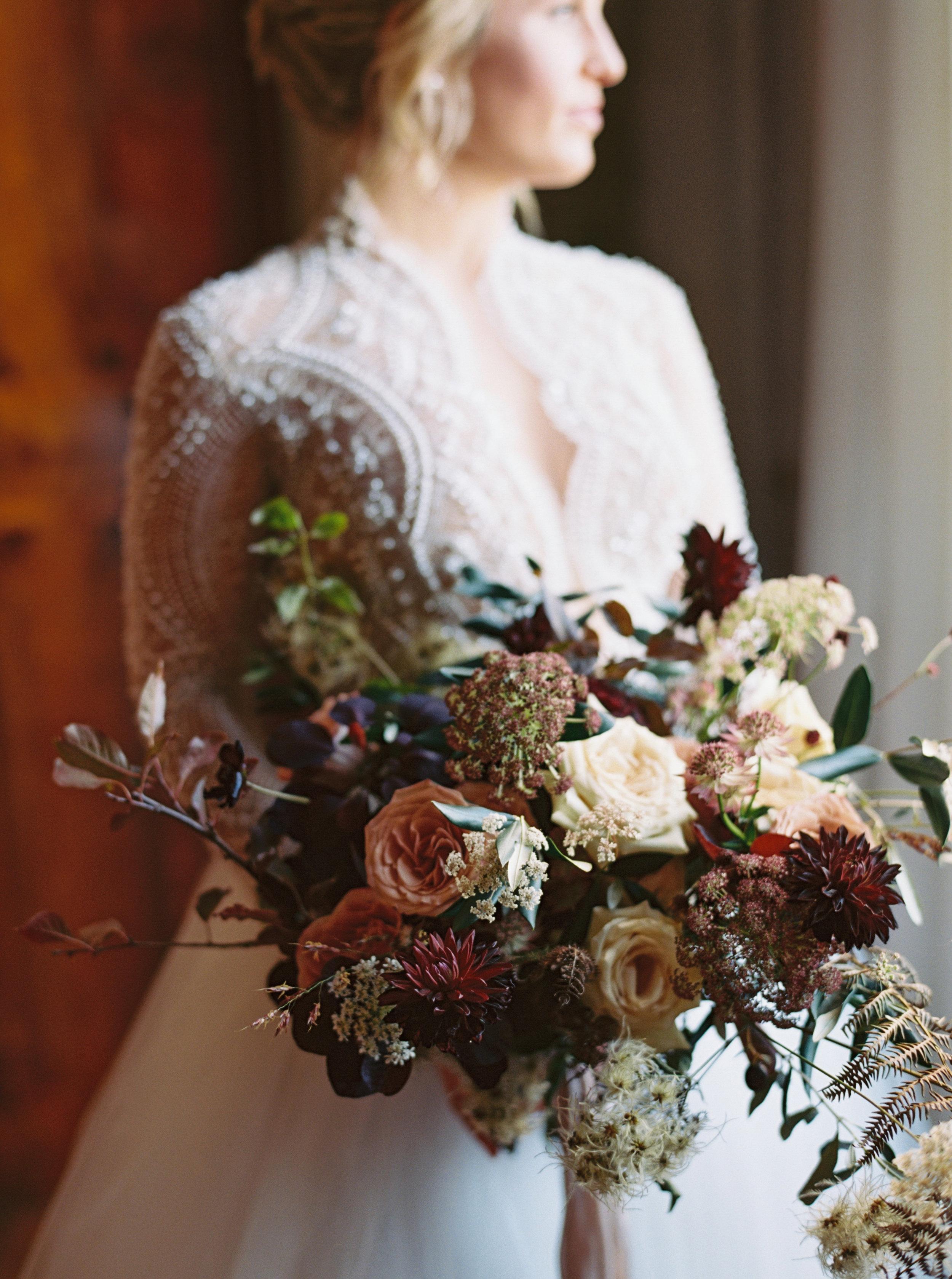 Seasonal Bridal Bouquet