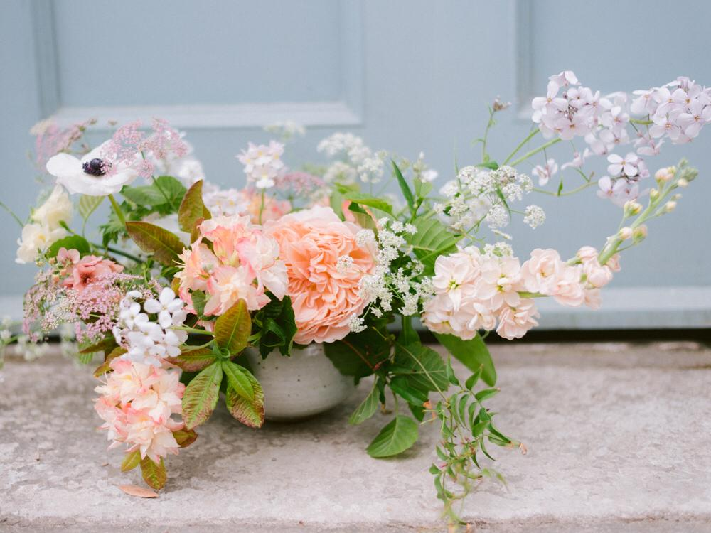 May Wedding Flowers - Cornwall captured by Imogen Xiana