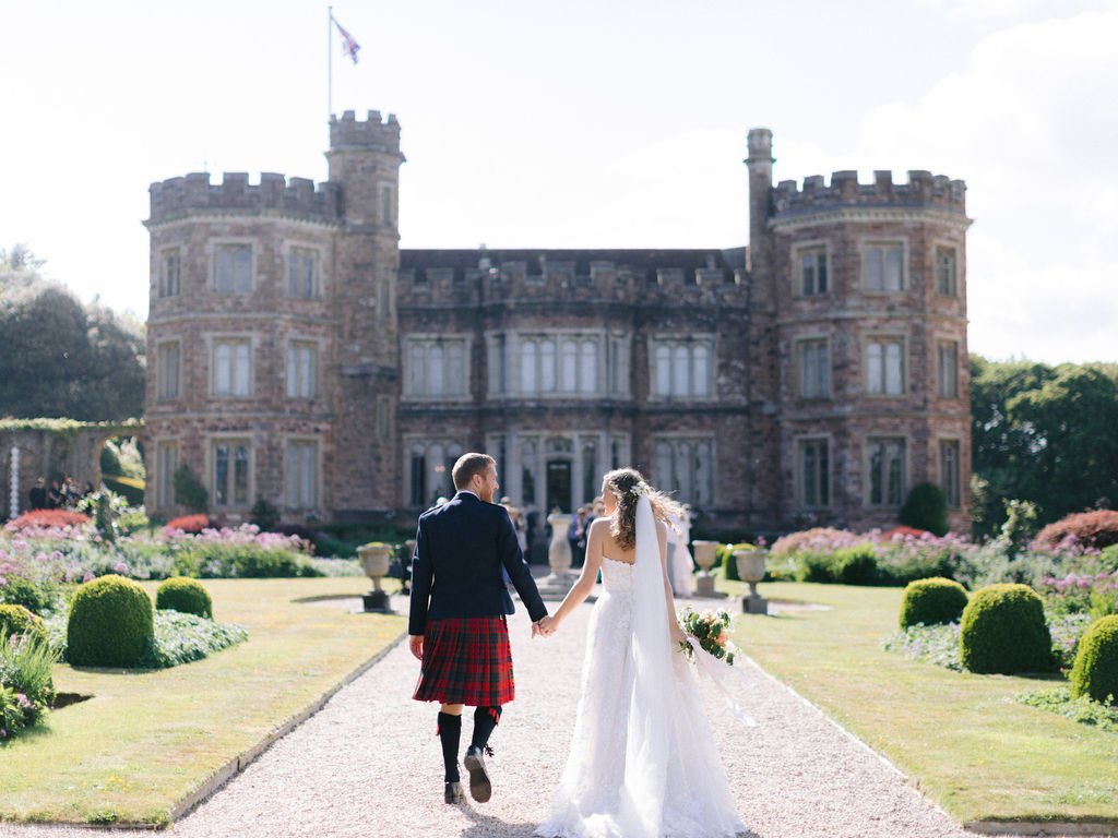 Lucy & Mike at Edgcumbe House