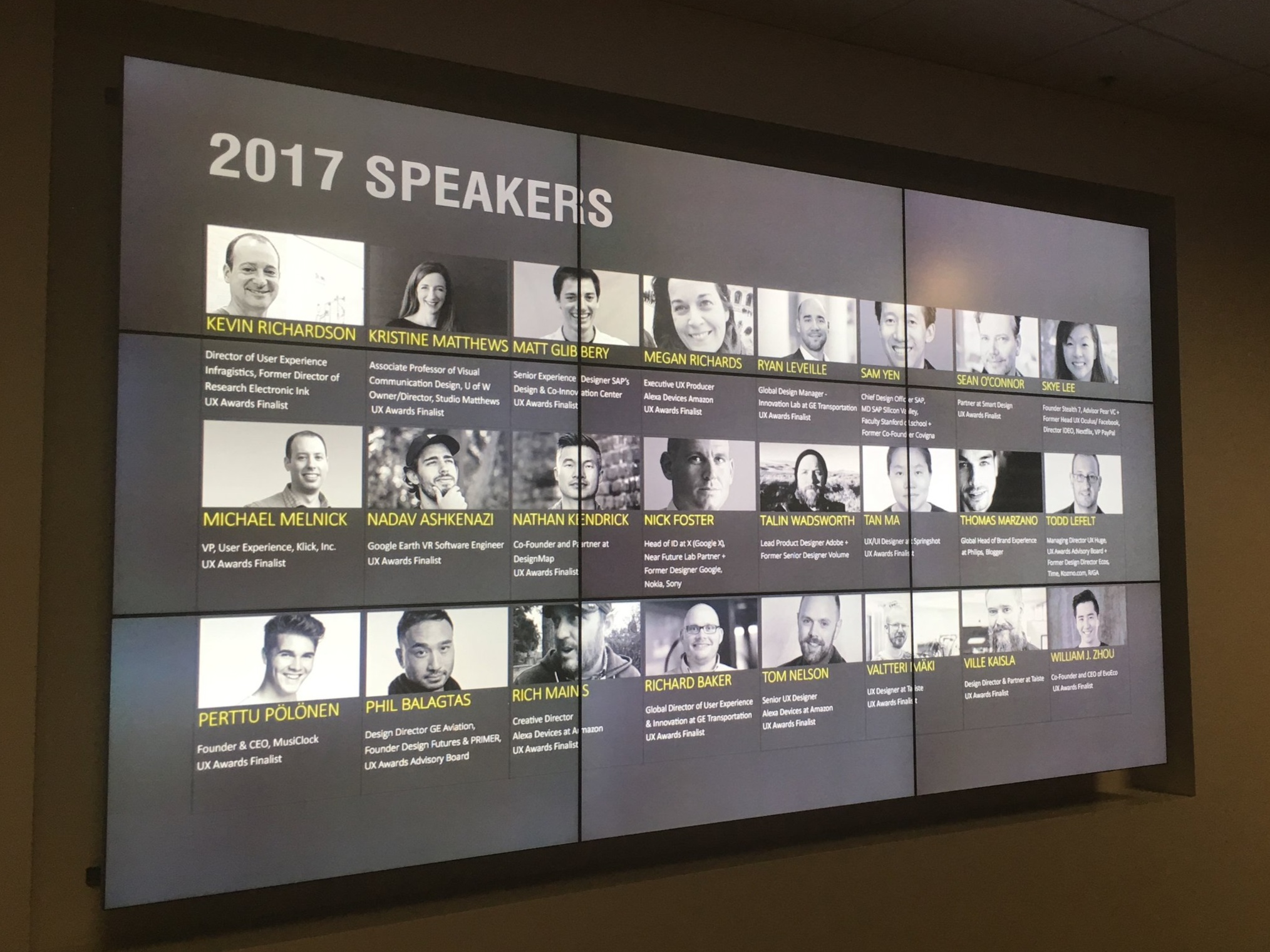 2017 conference lineup