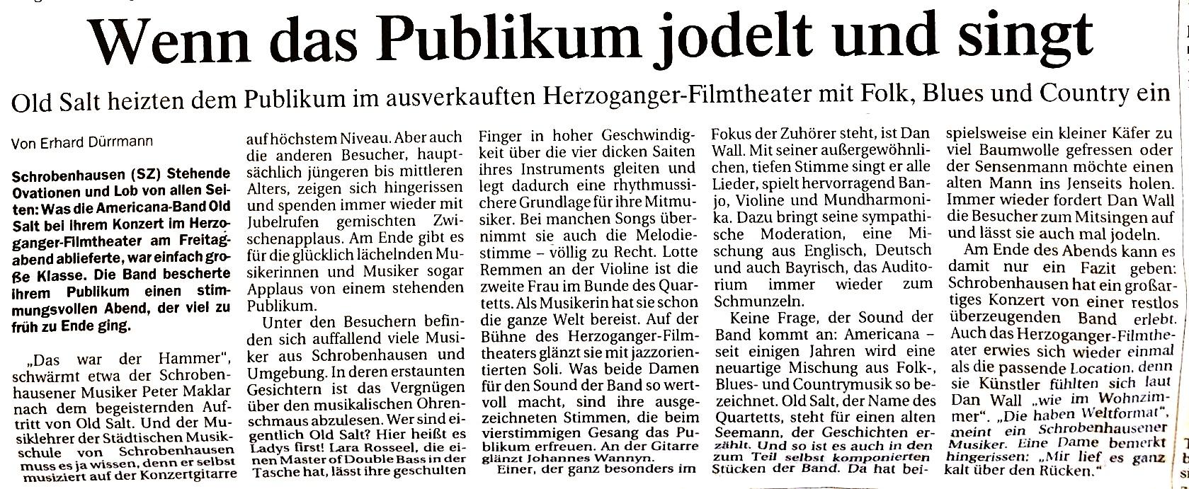 Schrobenhausener Zeitung -  May 2018