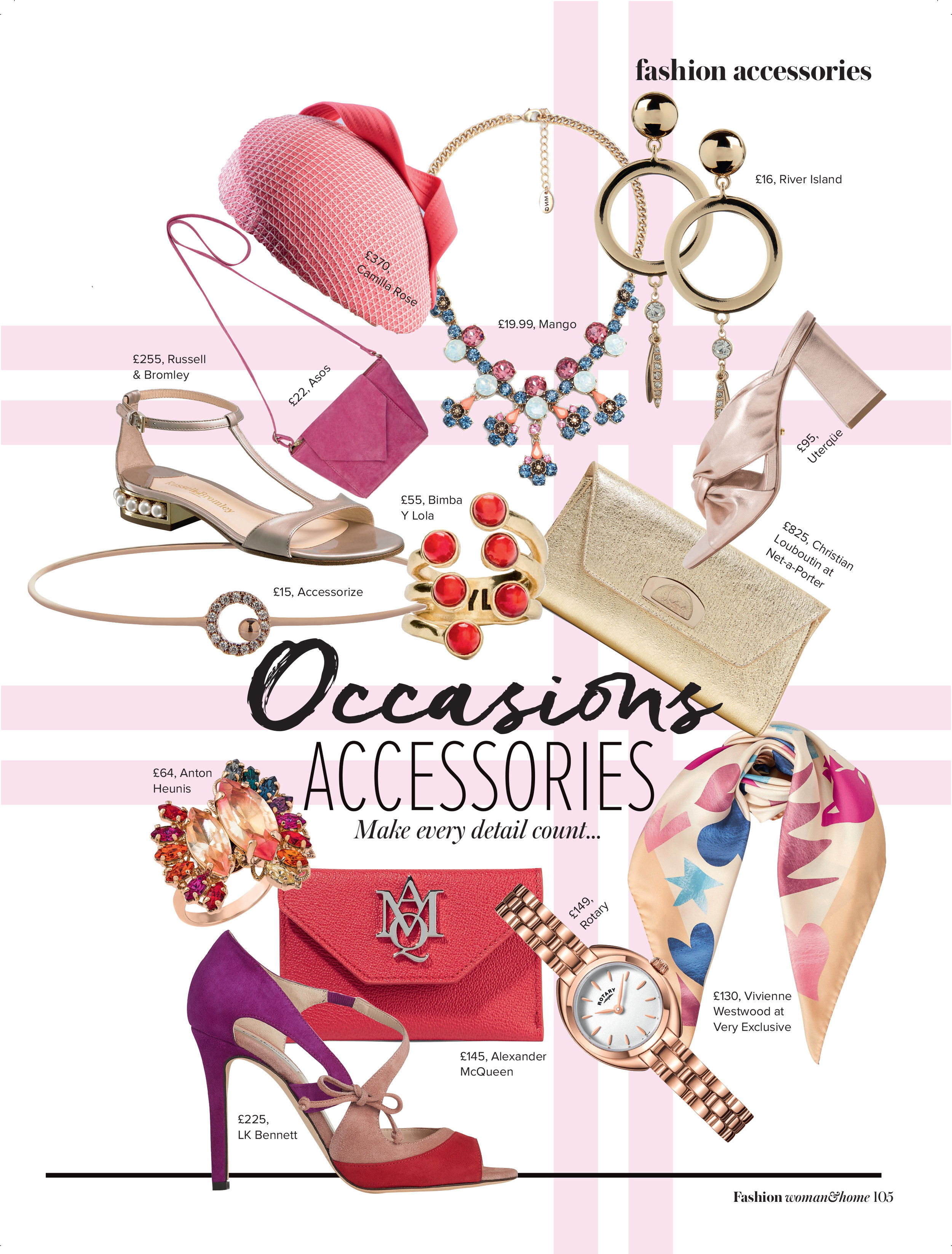 Women & Home Fashion - Spring/Summer 2017  (Fanlight Headpiece)