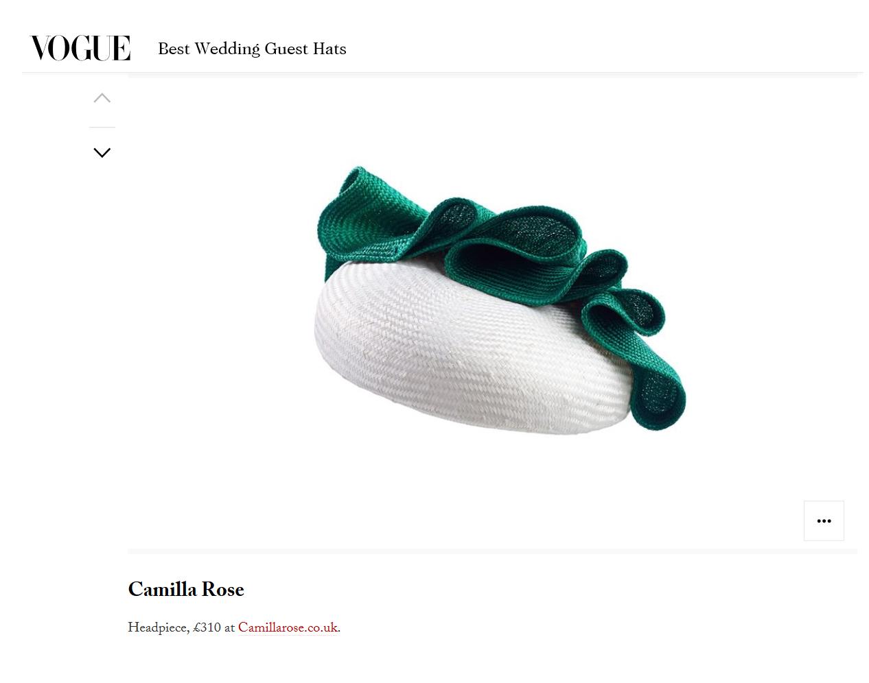 Vogue.co.uk - 29th April 2017  (Rake Headpiece)