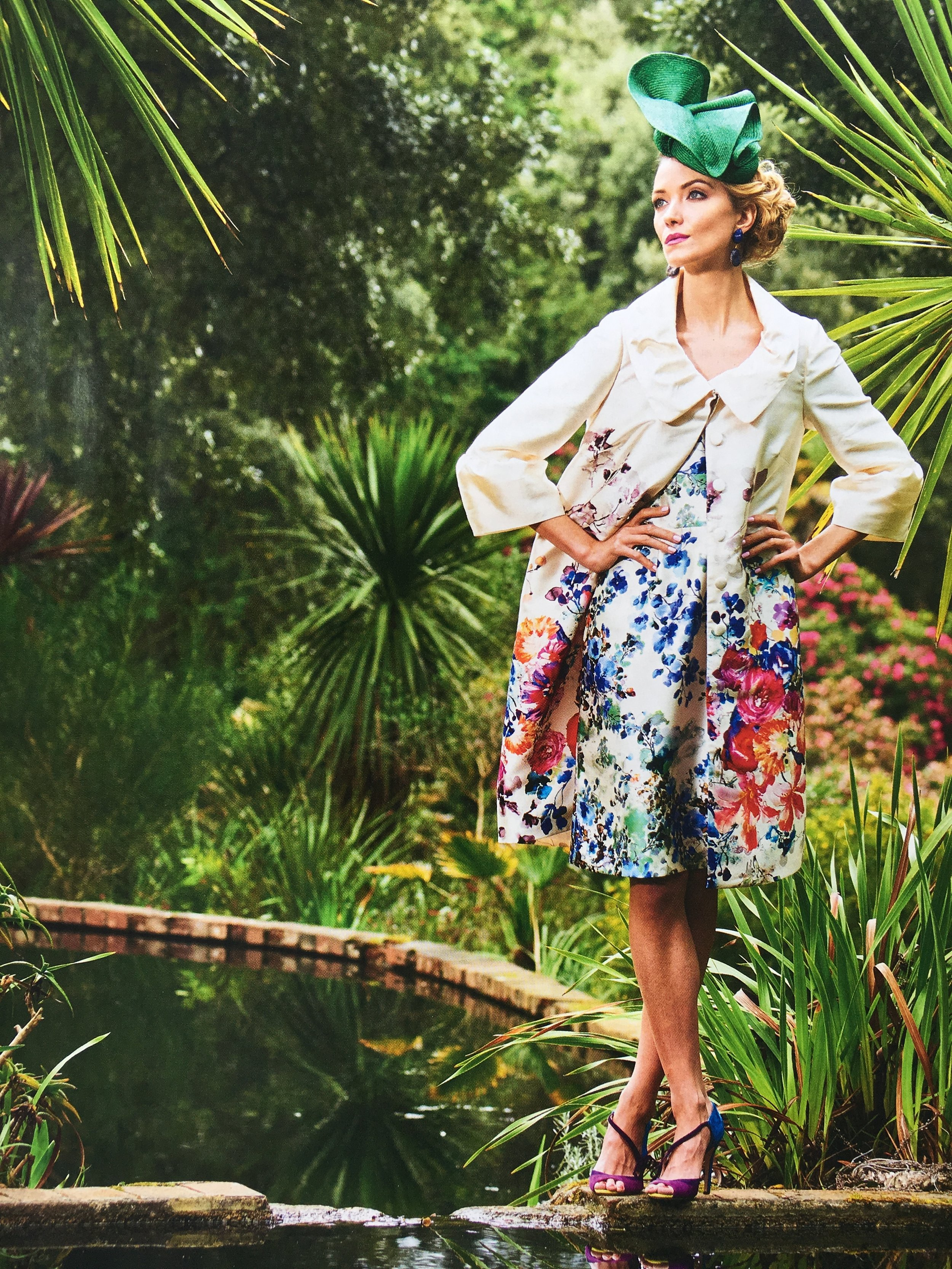 Country Life - 10th May 2017  (Volute Headpiece)