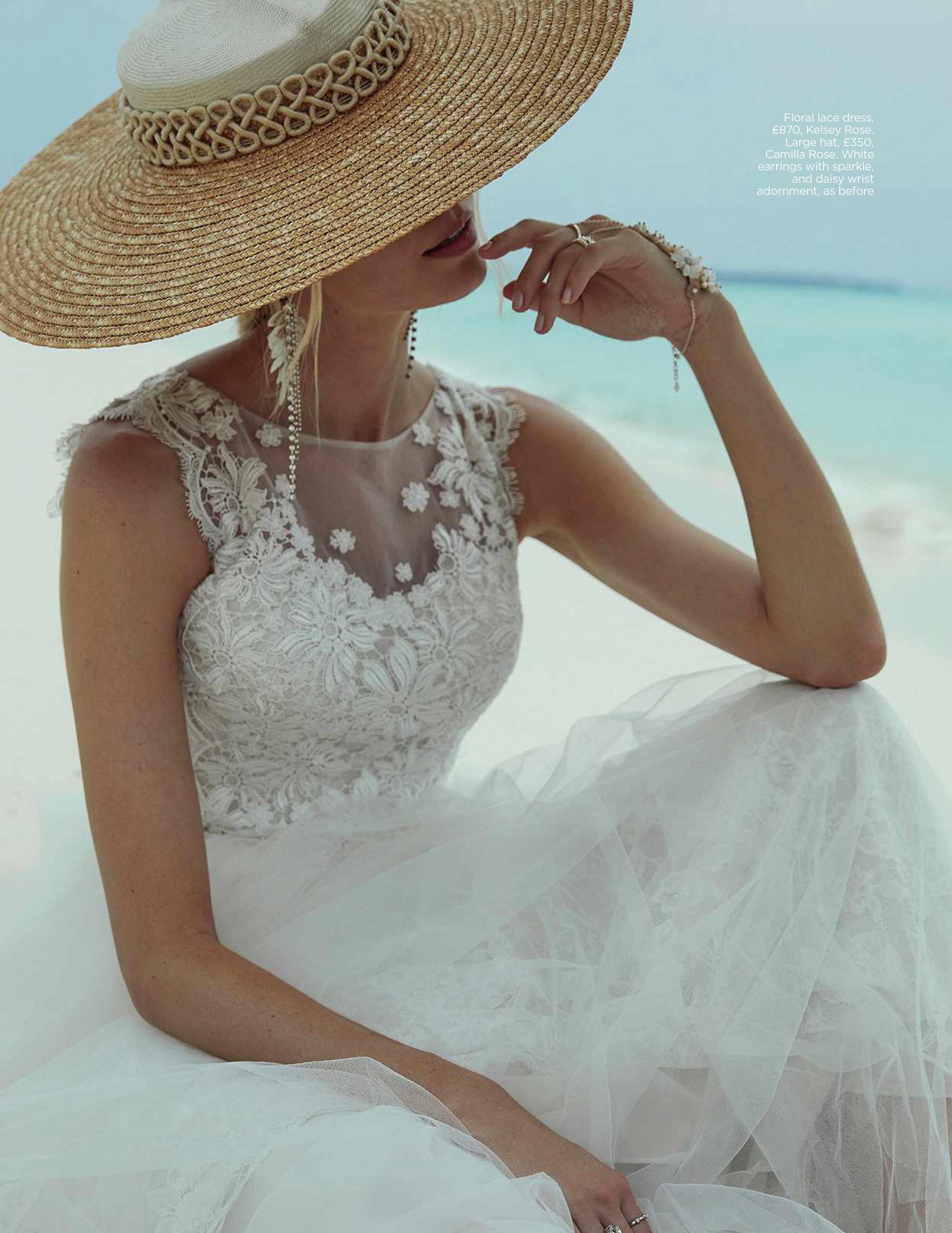 You & Your Wedding - May 2018  (Minka Hat)