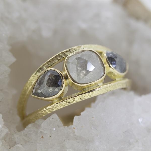 pear + rectangle rose cut diamond ring.jpg