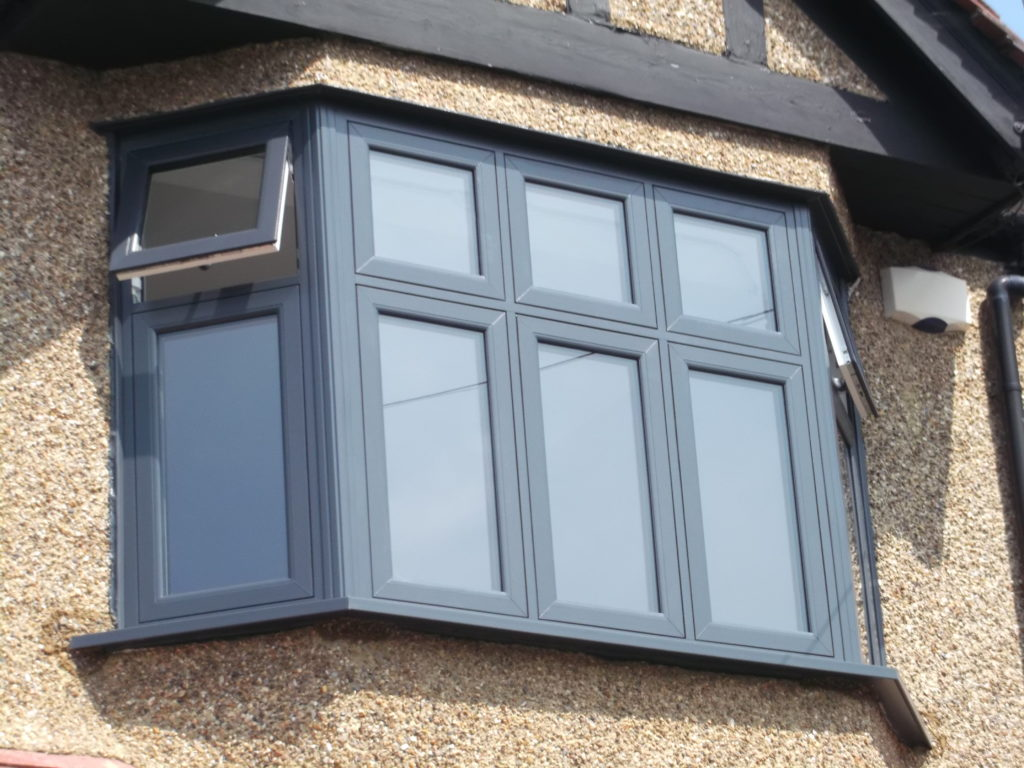 - PVC windows offering stylish design and minimising costs