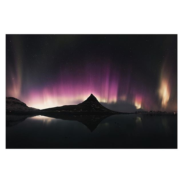 A 20 shot pano (2x5 rows) of the now famous St Paddy's Day Auroras. Taken as I went to photograph the 98% partial solar eclipse up in Iceland in 2015. The auroras were so powerful that they were visible before the sun had even set. The power of this night's aurora display showed the full spectrum of colours as the different atmospheric elements became excited and charged, and this happened all the way through until sunrise! It's a night I'll never forget.  I'm just back in London after a big couple of weeks in France and Morocco. And that's off the back of a huge work effort for the start of this year. So much so I've been running on empty for the past few weeks. Still at 33 I'm figuring out this work/life balance thing!? A couple more bits to do and then a few days off to rest up before getting on with some new exciting projects. (One of which will be workshops in London 😉).