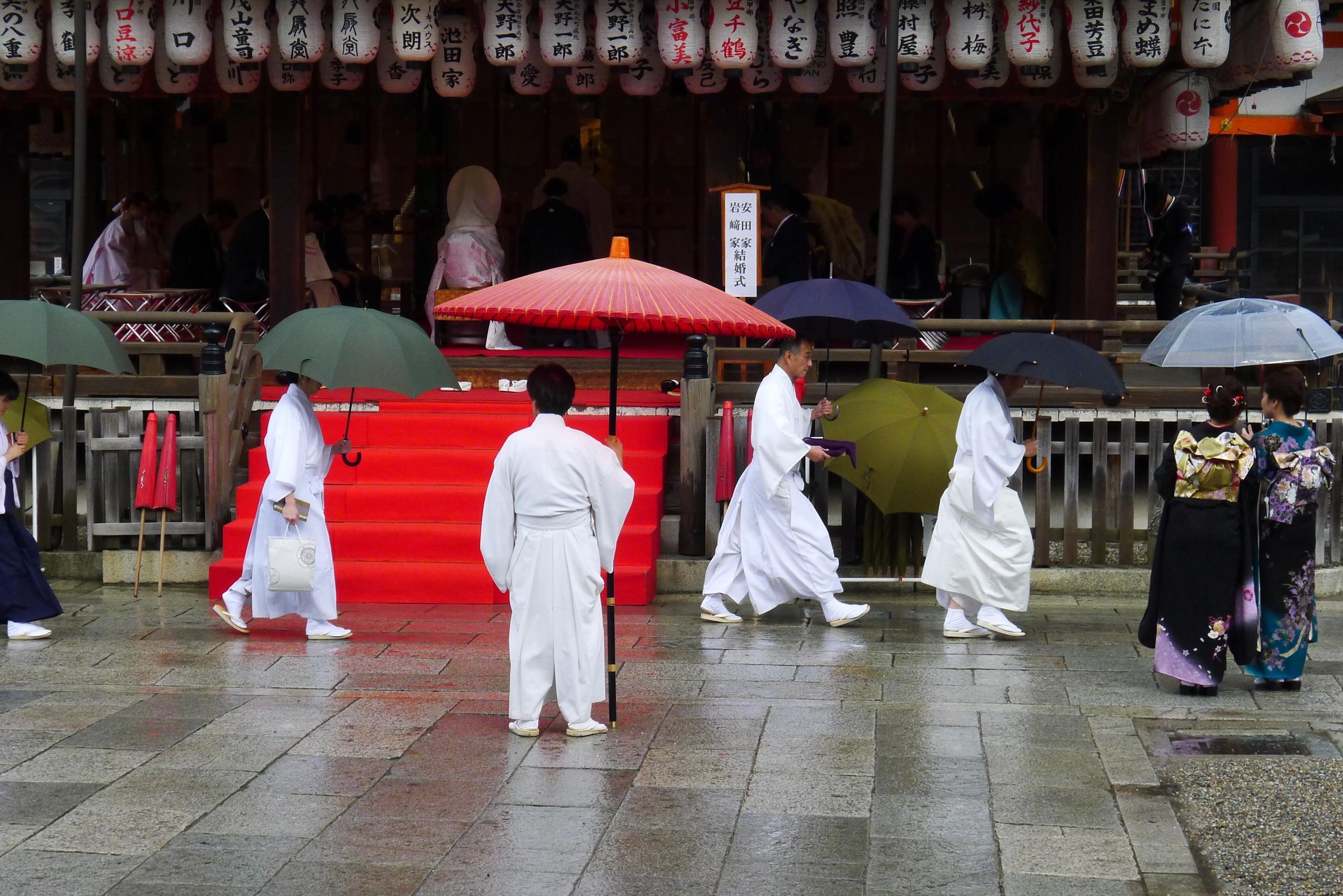 Wedding in Gion, February 14, 2014