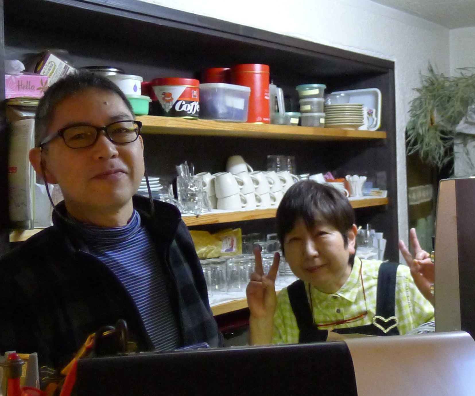 "Karaoke bar ""Coco,"" near the Imperial Palace, Kyoto"