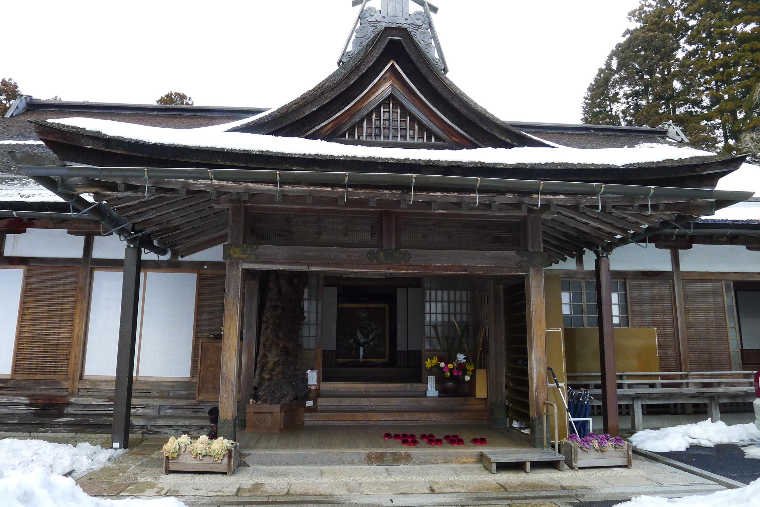 Muryoko-in Temple, February 21-23, 2014