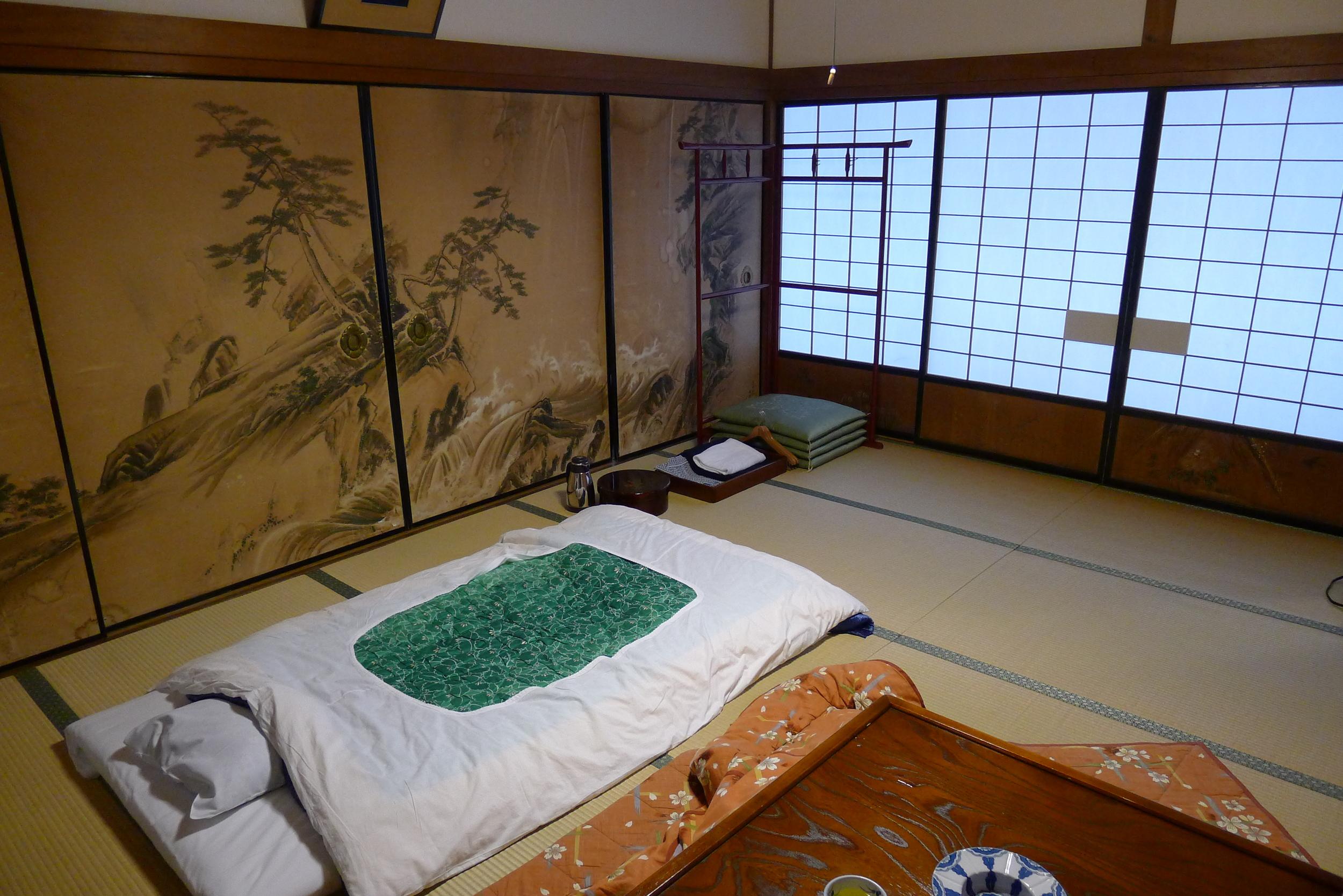 My room at Temple Muryoko-in
