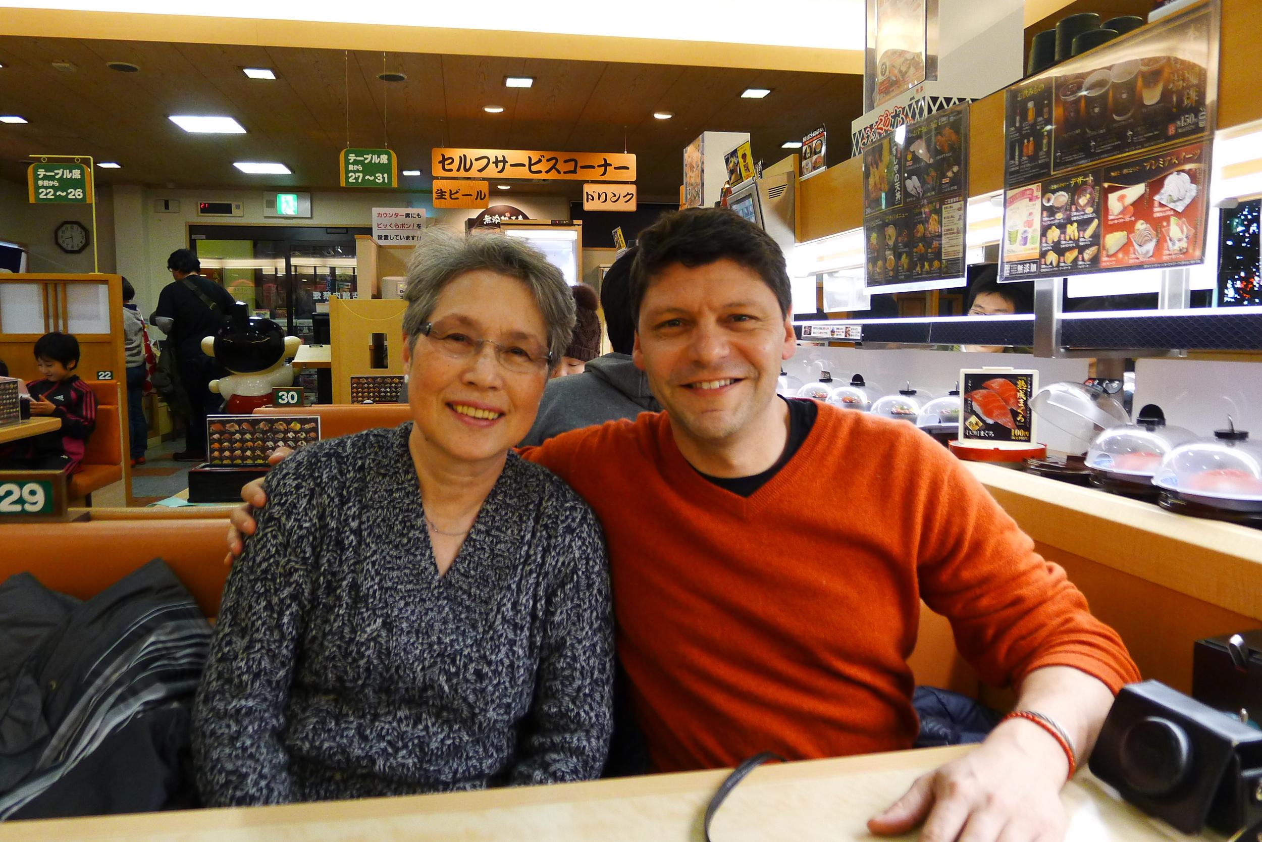 With Soyoko in Osaka, late February 2014