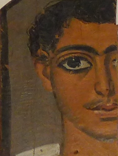 Meeting an old friend: the half-face of the Roman soldier