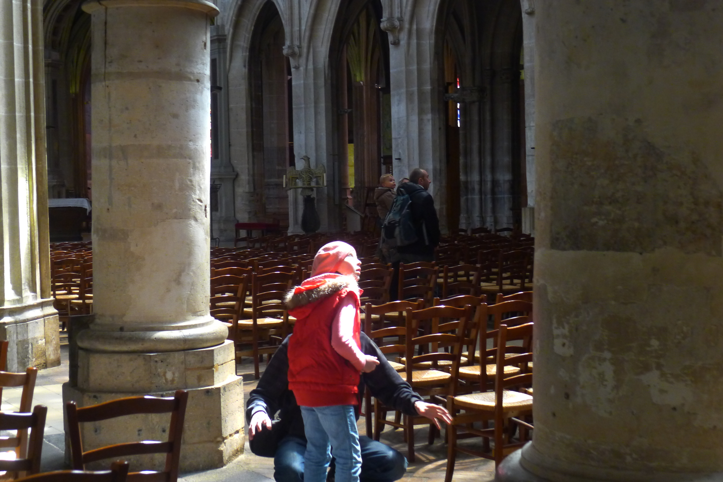A moment of wonder in the church of St Severin