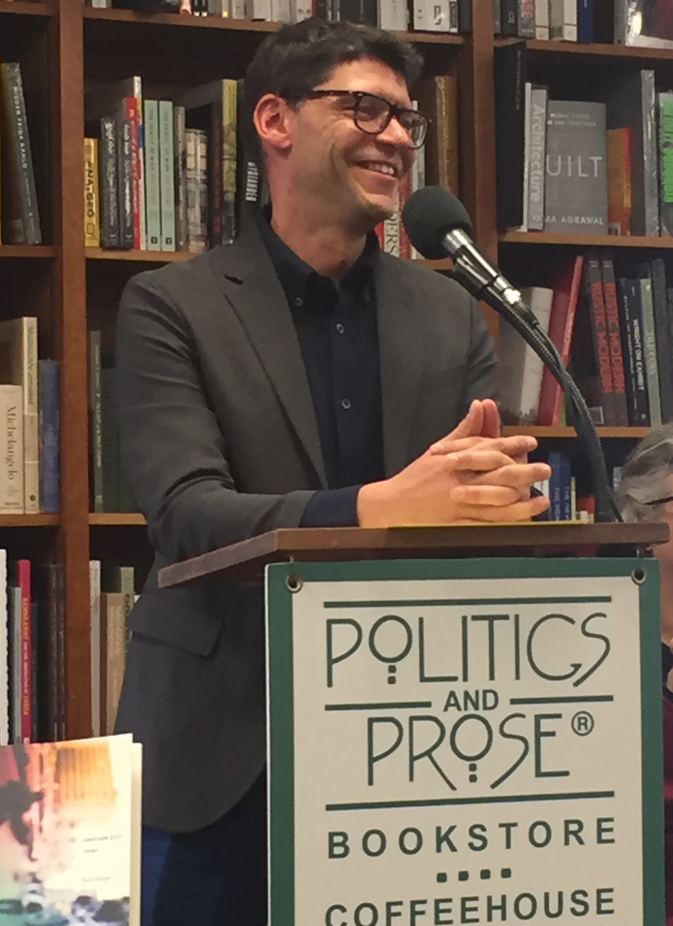 Politics and Prose, April 7 2018