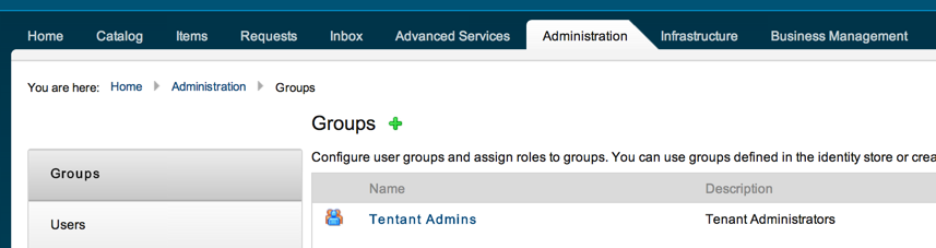 "Step One: Navigate to ""Groups"""
