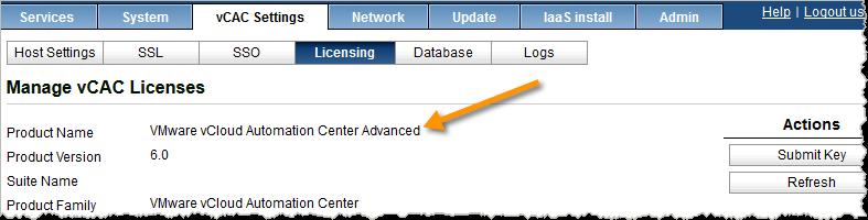 "You need ""Advanced"" or ""Enterprise"" edition to use XaaS / ASD"