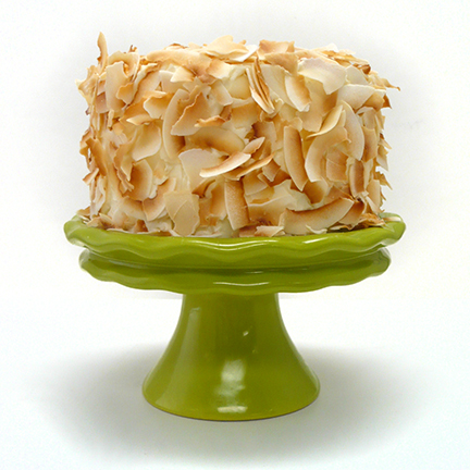 Coconut Cream Layer Cake