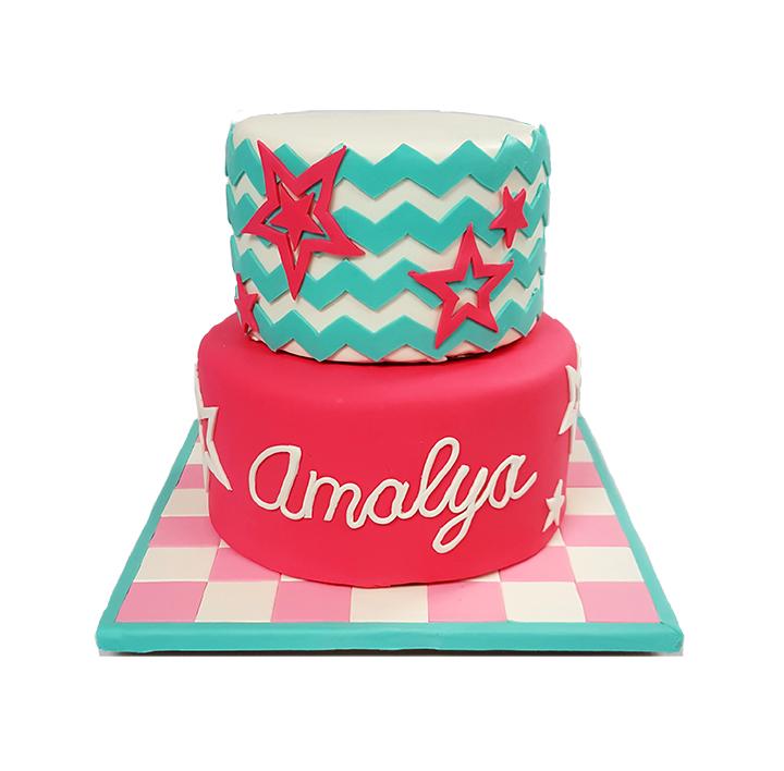 American Girl Doll Cake - 2015