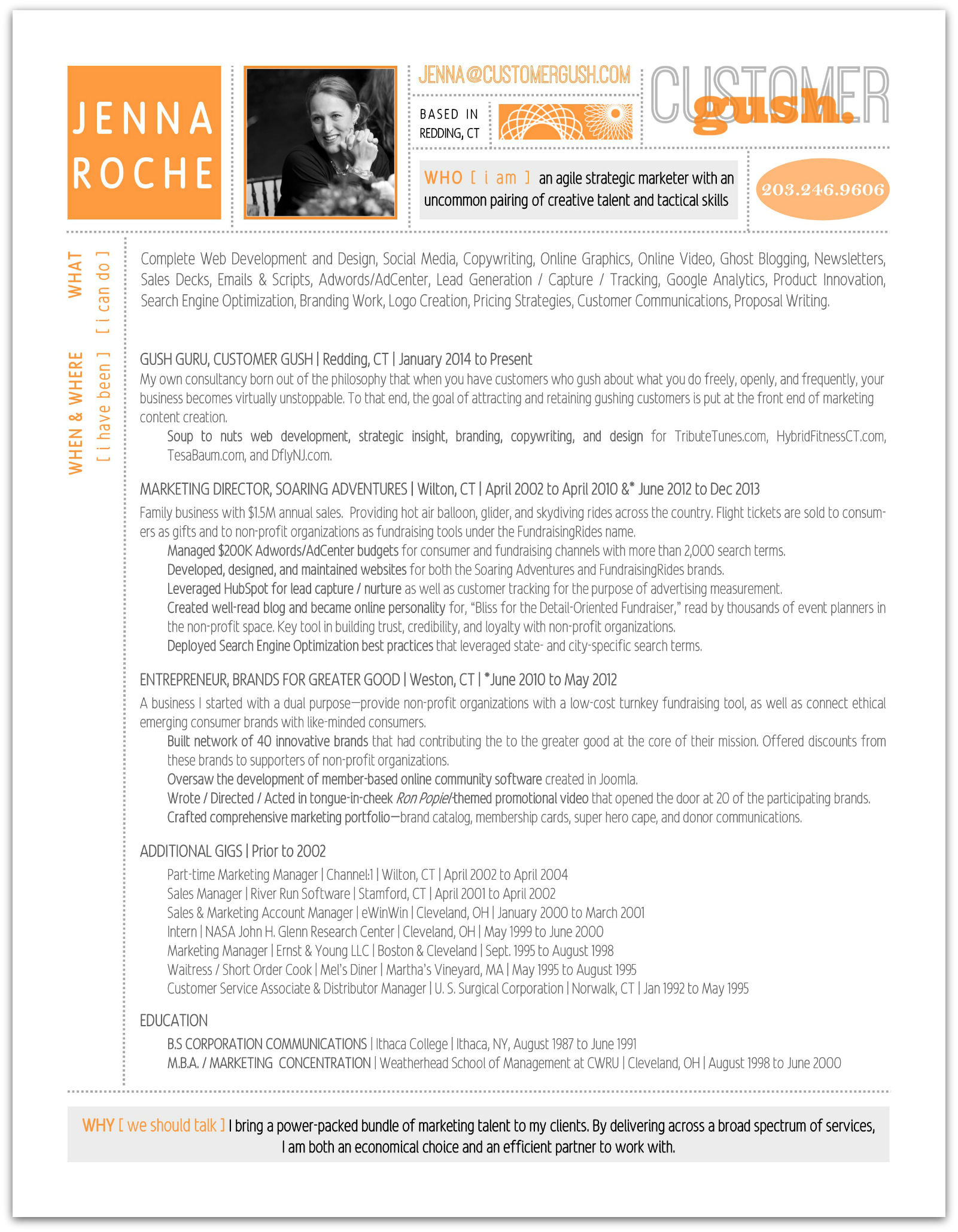 Click on resume image above to open a printable .pdf version.