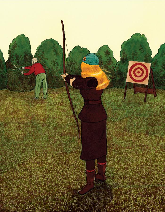 Scott Vincent  |  The Archer,  2006 |  Mixed Media