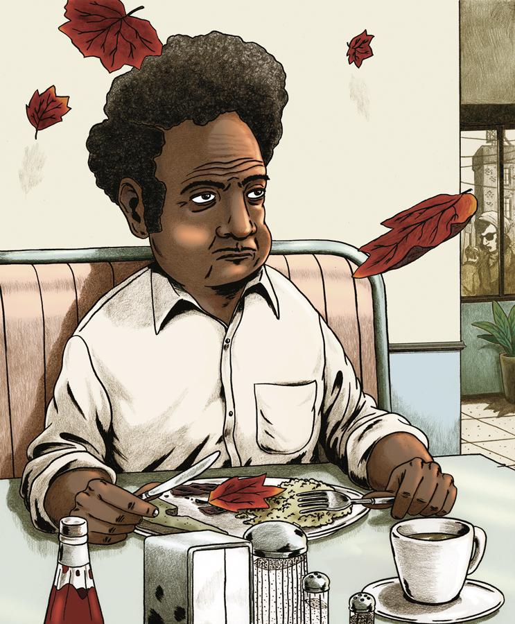 Scott Vincent  |  The Diner,  2005 |  Mixed Media