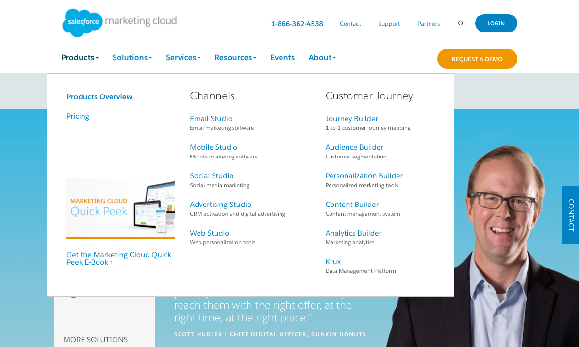 SALESFORCE MARKETING CLOUD  Improving ROI through better navigation   • Experience Design • Marketing       -COMING SOON-