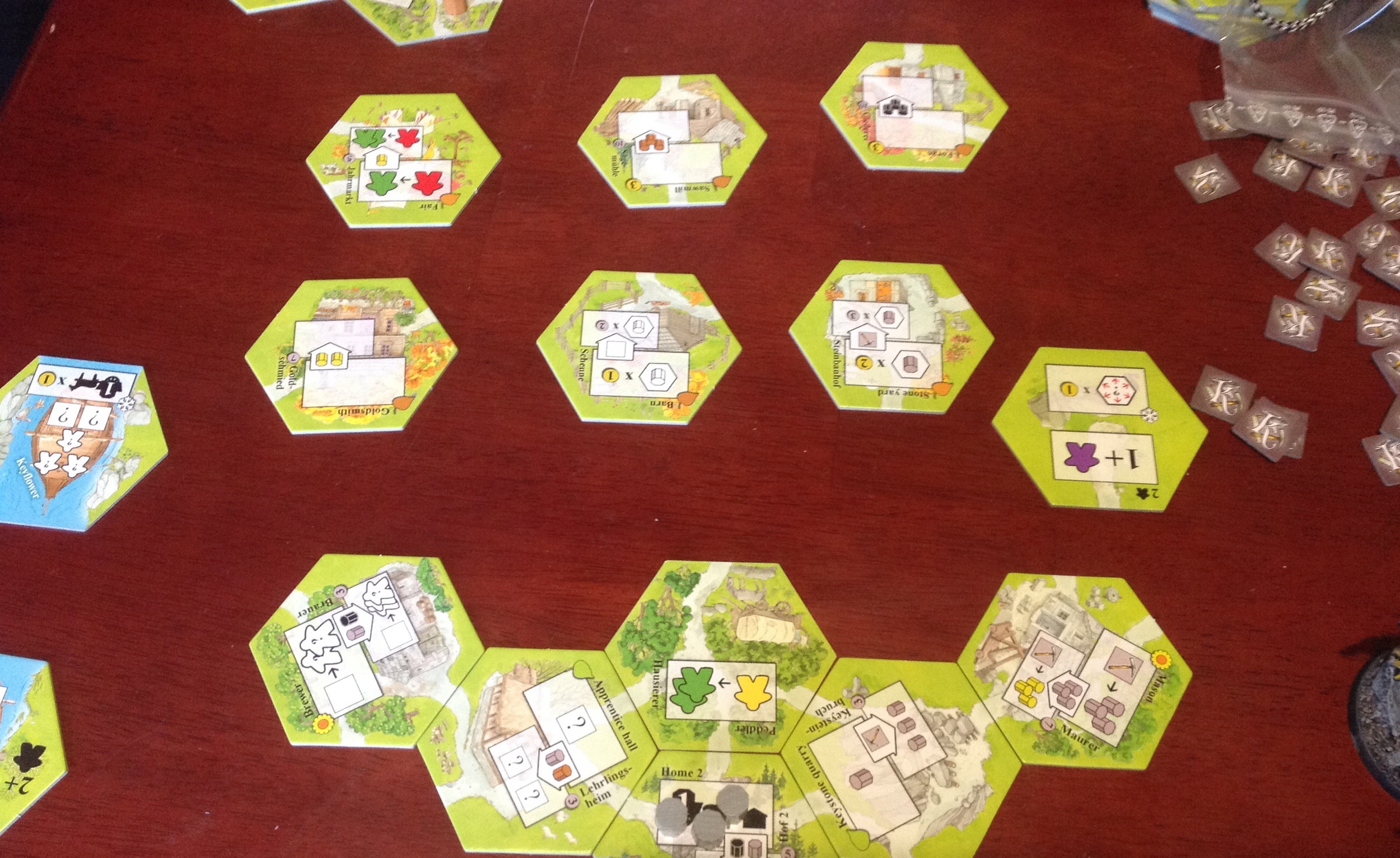 There's something so alluring about hexagons. Maybe in my past life I was a bee.