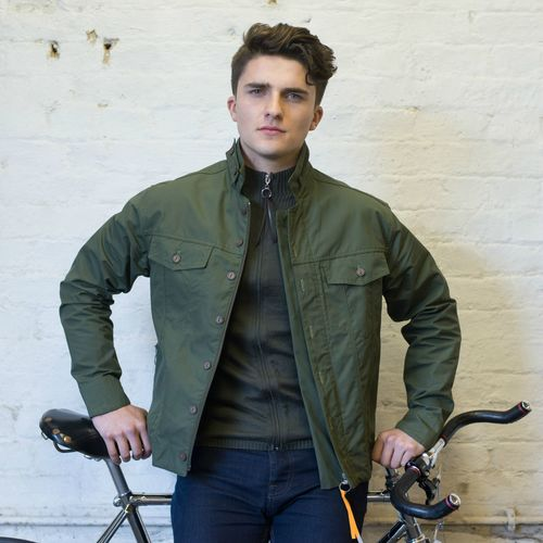 Ventile jacket for cycling